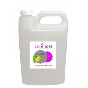 Hand Sanitizer (80% ISO Prop Alcohol) 5L